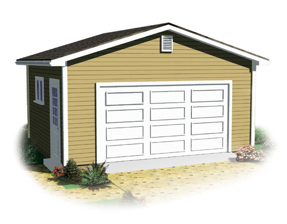 Garage packages westrum lumber for Home hardware garage packages cost